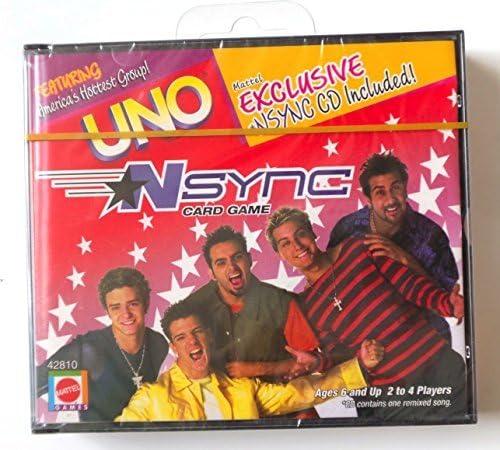 Mattel Uno NSync Ranking TOP18 Card Game online shop