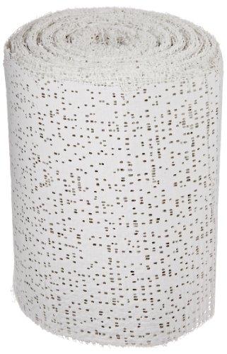 Sax Professional Plaster Wrap Roll, 4 Inch x 180 Feet, White, 20 Rolls