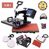 (US) Ambienceo Digital Heat Press Machine Transfer Printer Sublimation T-Shirt Mug Plate Hat 12