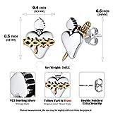 Sterling Silver Stud Earrings for women