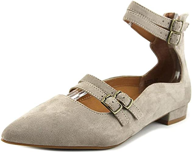 Design Lab Lord Taylor Mabel Women Us 6 5 Gray Flats Amazon Co Uk Shoes Bags
