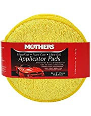 Mothers 156801 Yellow Microfiber Ultra-Soft Applicator, 6 Pack