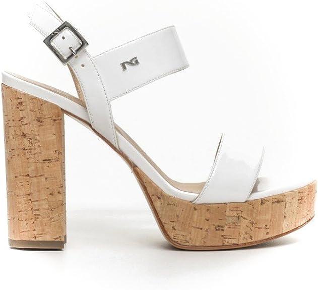 Nero Giardini sandalo elegante P717860DE nero | Grimandi