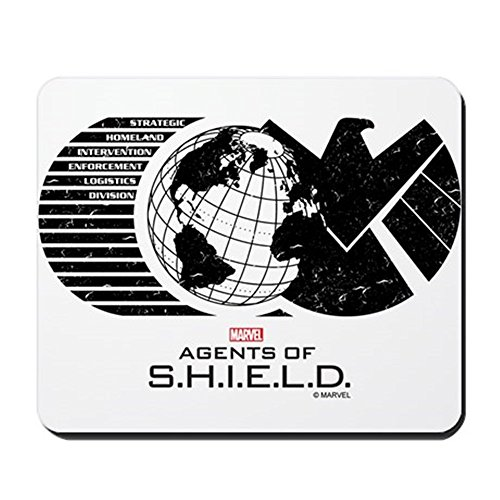 CafePress - S.H.I.E.L.D. - Non-slip Rubber Mousepad, Gaming Mouse Pad - Agents Of Shield Mouse Pad