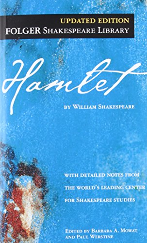 Hamlet ( Folger Library Shakespeare) cover
