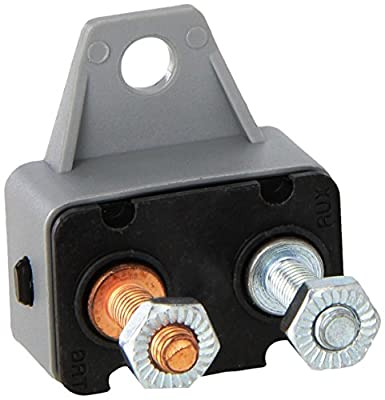 Sea Dog 420843-1 Resettable Circuit Breaker without Cover, 30 Amp