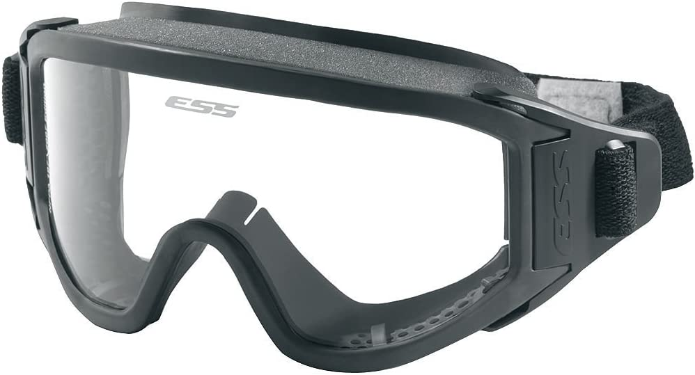 ESS Innerzone 3 Safety Ballistic Structural Fire Goggles Black/Clear 740-0273 by ESS Eyewear