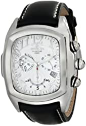 Invicta Men's 13690 Lupah Analog Display Swiss Quartz Black Watch