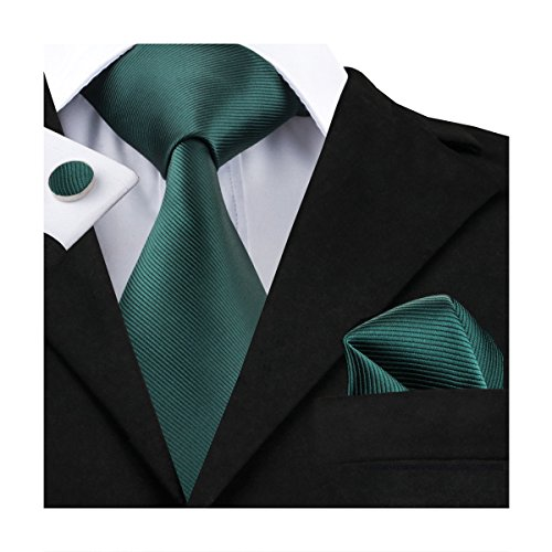 Handkerchief Mens Necktie Set - 8