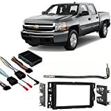 Amazon com: Fits Chevy Tahoe 2007-2014 Double DIN Stereo