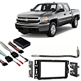 Fits Chevy Silverado Pickup 2007-2011 Double DIN Harness Radio Dash Kit Review