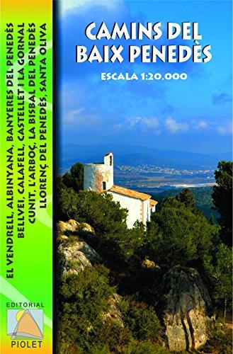 Descargar Libro Camins Del Baix Penedès, Mapa Excursionista. Escala 1:20.000. Editorial Piolet. Vv.aa.