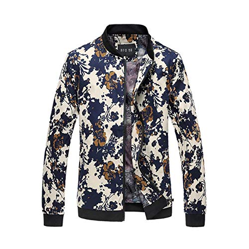 Casual Mâle Veste Sweat E Vestes De Hommes Slim 6xl Garçon Outwear Tops Col Manteau Mode Stand B couleur Taille w4xwzB7q