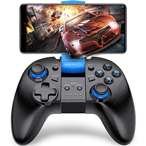 Android Wireless Game Controller, BEBONCOOL Gamepad Remote (for Android Phone/Tablet/Samsung Gear VR/Emulator) Gear VR Gamepad Controller (Samsung Tab 2 Vs Tab 3 10-1)