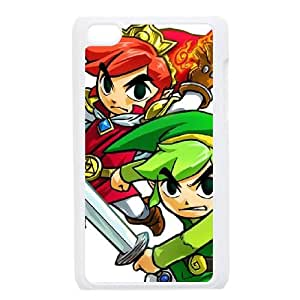 iPod Touch 4 Case White The Legend of ZeldaTri Force Heroes 008 Jfgsm