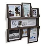 Umbra Edge 7-Opening Collage Wall Frame, Aged Walnut