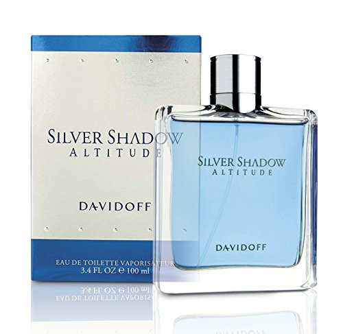 Davidoff Silver Shadow Altitude By Davidoff For Men. Eau De Toilette Spray - Discount Silver Fragrance Mens