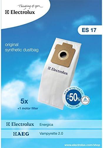 Electrolux ES17 accesorio y suministro de vacío - Accesorio para aspiradora (Blanco, Sintético, ENERGICA ZS 201, 202, 206, 5 pieza(s)): Amazon.es: Hogar
