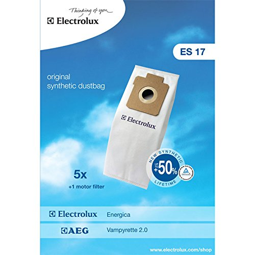70 opinioni per Electrolux 900256339 Es17 Sacco Sintetico per Energica, 1 Filtro Motore
