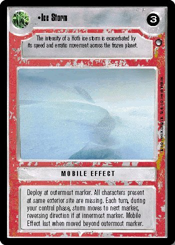 Hoth Ice (STAR WARS CCG LS HOTH ICE STORM 118U1)