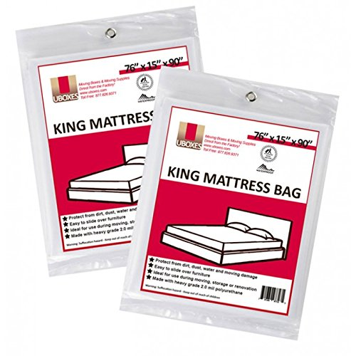 UBOXES King Size Mattress Bags Cover 76