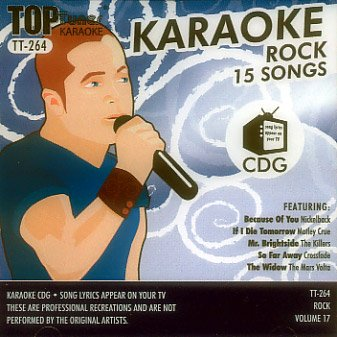 Top Tunes Karaoke CD+G Rock Vol. 17 TT-264