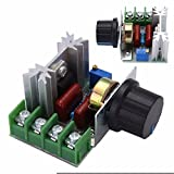 WILLAI 50-220V AC 2000W Motor Dimmers SCR Voltage Regulator Controller Electrical Knob Switch Speed Control Tool For Thermostat Mayitr