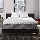 Sleep Innovations Alden 14-inch Memory Foam Mattress, Bed in a Box, Tufted Cover, Made in The USA, 10-Year Warranty - Full Size