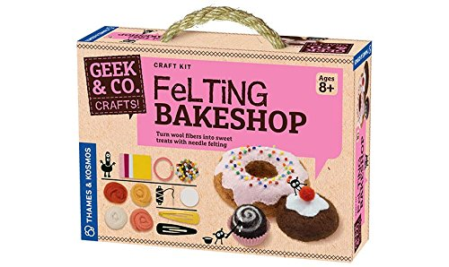 Geek & Co. Craft Felting Bakeshop Kit