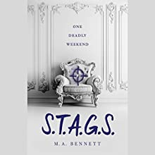 S.T.A.G.S. Audiobook by M. A. Bennett Narrated by Katharine McEwan