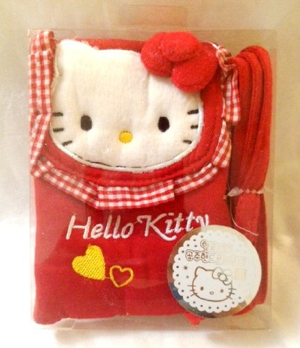 - Sanrio Hello Kitty Pouch with Strap - Red (Great for Phone, Camera, MP3, Itouch etc)