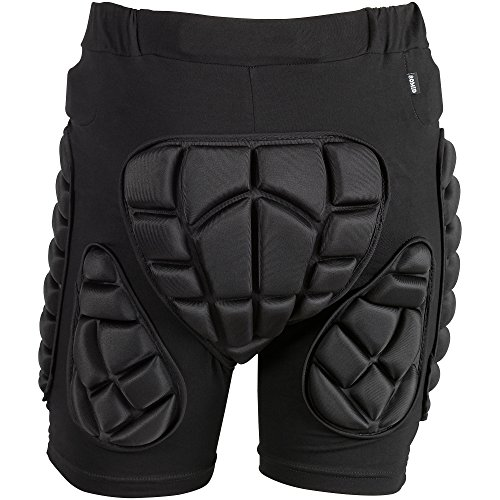 OMID Padded Shorts Breathable Lightweight Hip Butt EVA Protective Gear Guard Pants for Motorcross, Cycling, Skiing for Men, Women