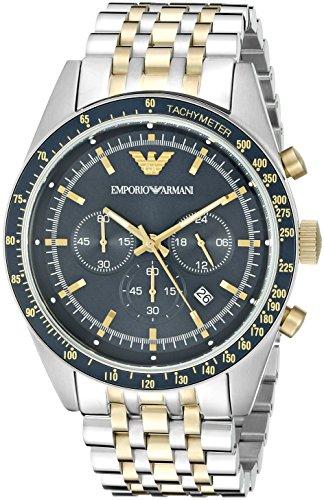 Emporio Armani Men's AR6088 Sport Two Tone Watch ()