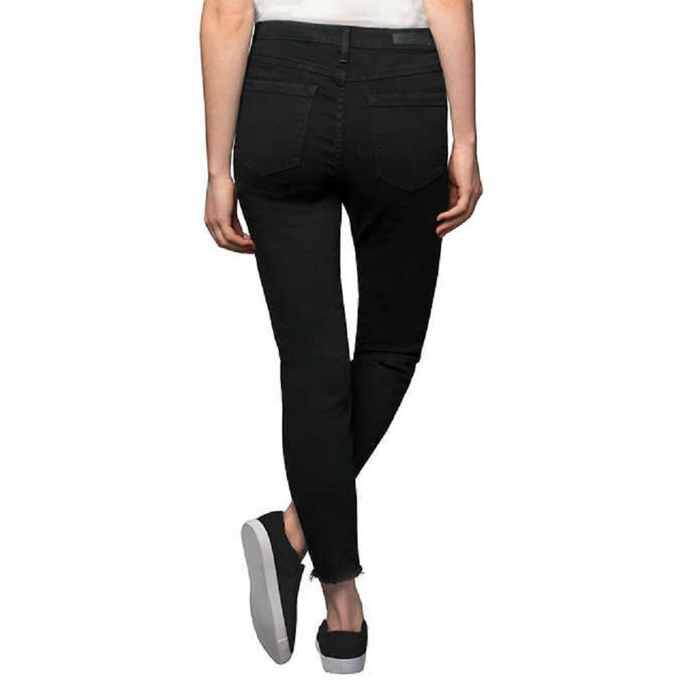 f6cc9b1f8af Kenneth Cole Ladies  Stretch Ankle Skinny Jeans for Women (Black