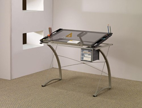 Artist Drafting Table Desk Champagne