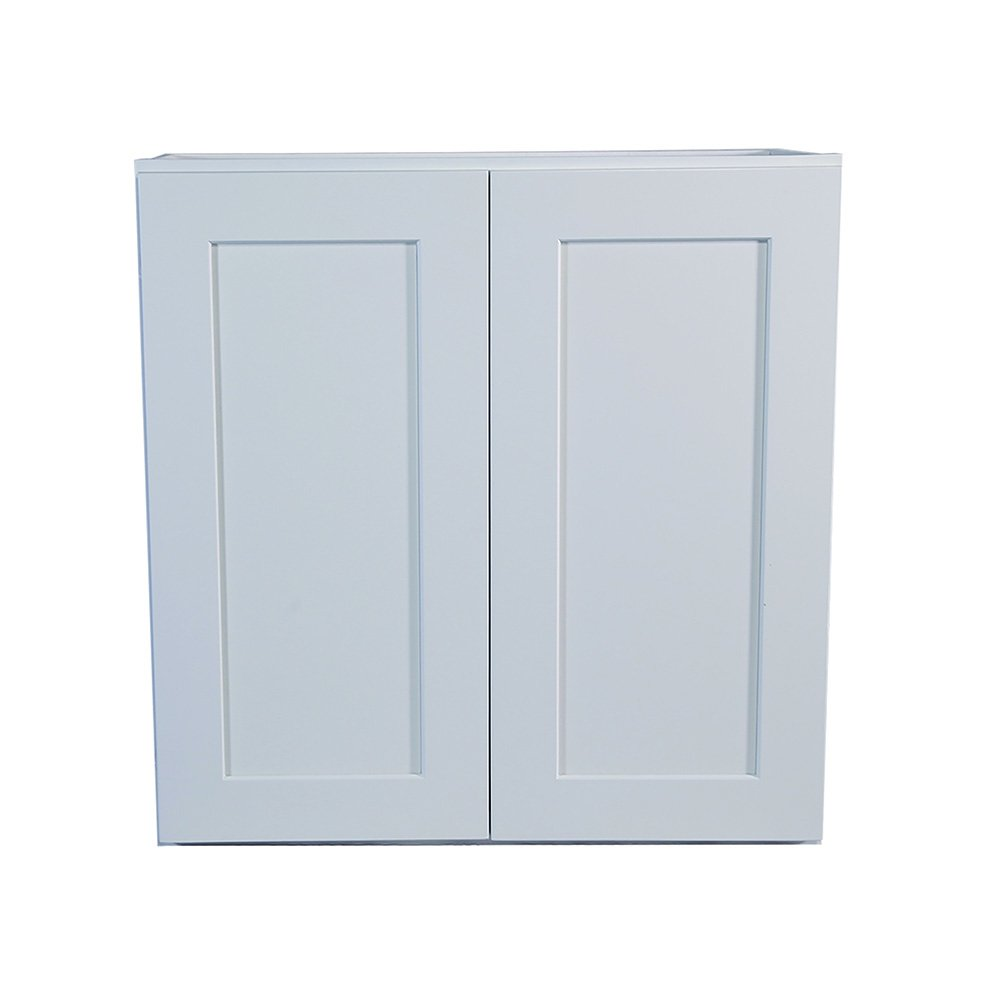 Design House 569095 Brookings Fully Shaker Wall 24x36x12, White Assembled Kitchen Cabinets,