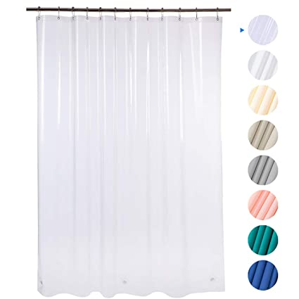 Amazoncom Amazer 72 W X 72 H Eva 8g Shower Curtain With Heavy