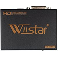Wiistar HDMI to DVI Converter with 3.5mm and Spdif Output Video Converter 1080P for HDTV HD Projector Apple TV Blu-Ray Player,PS4