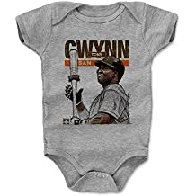 500 LEVEL's Tony Gwynn Baby Onesie - San Diego Baseball Baby Clothes - Tony Gwynn Batters Box San Diego