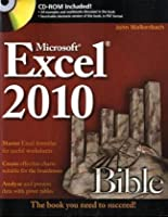 Excel 2010 Bible Front Cover