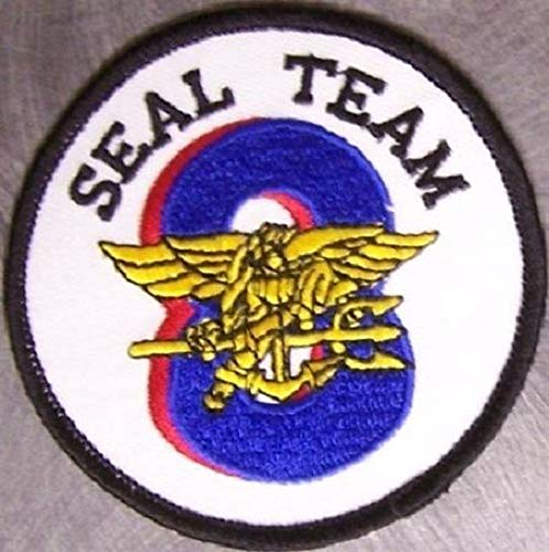 Militaria US NAVY SEAL TEAM EIGHT MILITARY PATCH SEAL TEAM 8