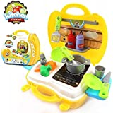 Liyn Kitchen Cooking Toys Set