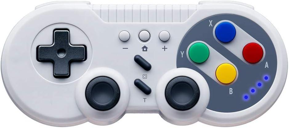Controlador de juegos para Nintendo Switch, PowerLead Gamepad inalámbrico Mando Pro para Switch USB Classic Controller para PC con Windows: Amazon.es: Videojuegos