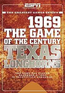Amazon Com Espn Game Of The Century 1969 Texas Longhorns