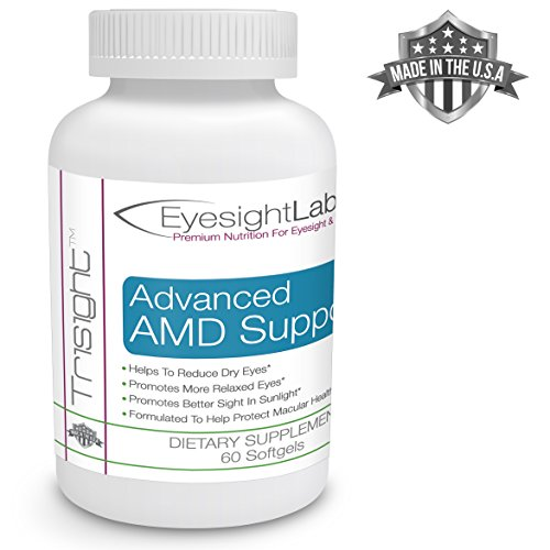 AREDS 2 Eye Vitamins For Macular Degeneration - Vision Supplements To Avoid Vision Loss - Protect Your Macula From Damage - w Lutein Zeaxanthin amp AREDS2 Ingredients - Quality Omega-3s Eye Vitamins Discount