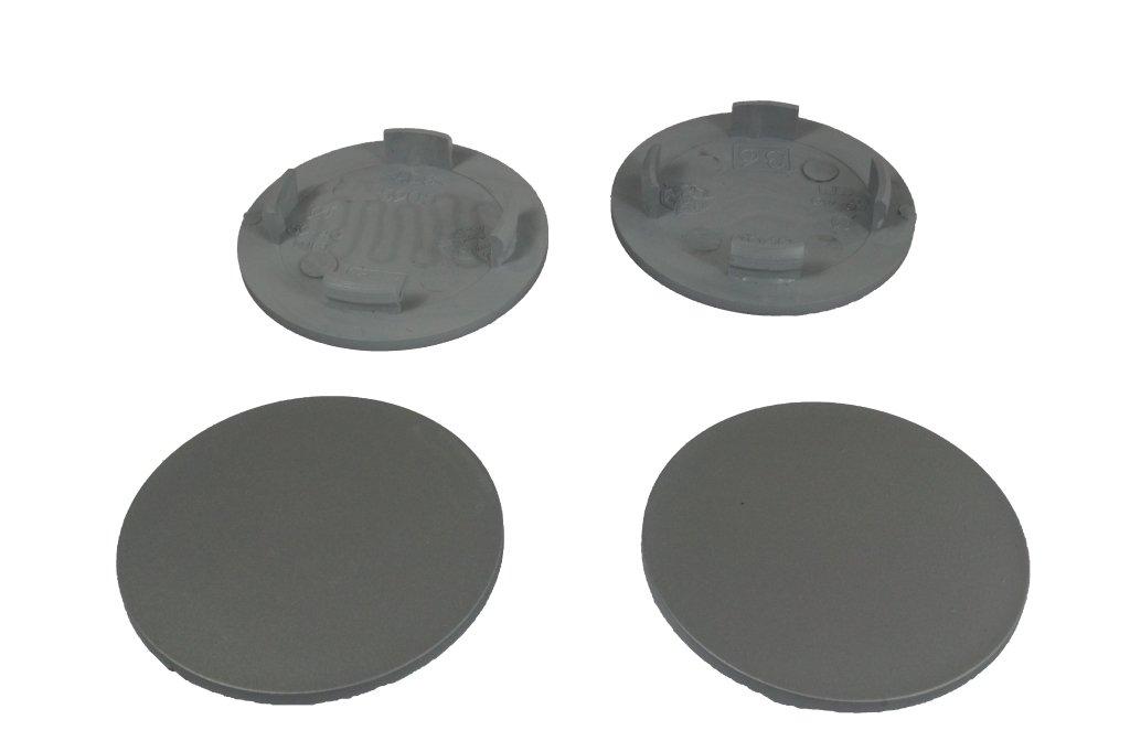 4 x COPRIMOZZO Coperchio Mozzo Coperchio CERCHIONI 63,0-57,5 MM-ARGENTO
