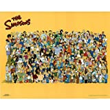 (16x20) The Simpsons (Entire Cast) TV Poster Print