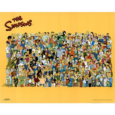 Click for larger image of (16x20) The Simpsons (Entire Cast) TV Poster Print
