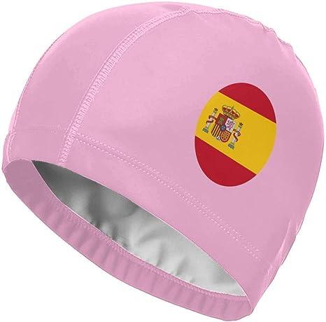 Gorro de baño, bandera de España. Gorra de natación con bandera ...