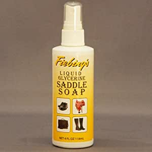Fiebing's Liquid Glycerine Saddle Soap 4oz Pump by Fiebing